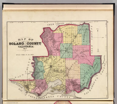 Solano County, Calif. / Thompson & West / 1878
