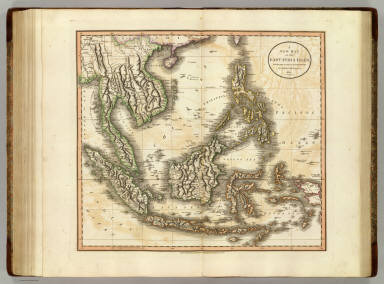 A new map of the East India Isles, from the latest authorities. By John Cary, engraver, 1801. London: Published by J. Cary, Engraver & Map-seller, No. 181, Strand, Decr. 21, 1801