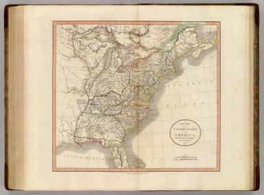 United States of America. / Cary, John, ca. 1754-1835 / 1806