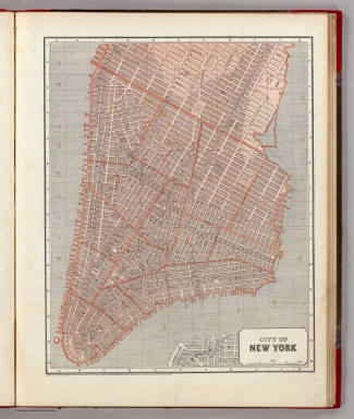 City of N.Y. / Morse, Sidney E. (Sidney Edwards), 1794-1871 ; Breese, Samuel, 1802-1873 / 1845