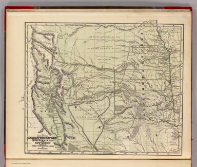 A map of the Indian Territory, northern Texas and New Mexico showing the great western prairies by Josiah Gregg. Entered ... 1844 by Sidney E. Morse and Samuel Breese ... New York. (New York: Published by Harper & Brothers, 1845)