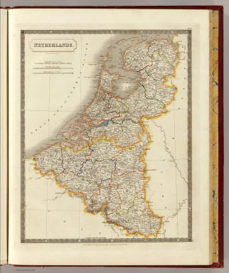 Netherlands. By Sidney Hall. London, published by Longman, Rees, Orme, Brown & Green, Paternoster Row, Feby. 1828.