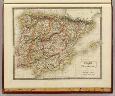 Spain, Portugal. / Hall, S. (Sidney) / 1828