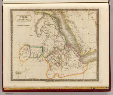 Nubia and Abyssinia. By Sidney Hall. London, published by Longman, Rees, Orme, Brown & Green, Paternoster Row, Jany. 1830.
