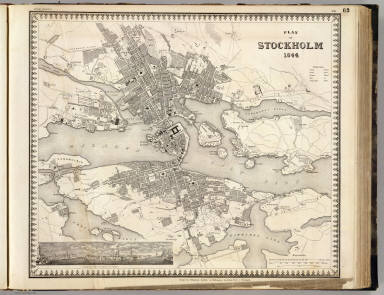 Stockholm. / Meyer, Joseph, 1796-1856 ; Society for the Diffusion of Useful Knowledge (Great Britain) / 1844