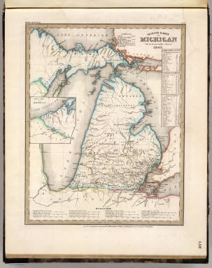 Michigan. / Meyer, Joseph, 1796-1856 / 1845