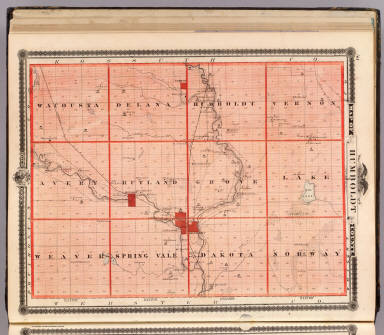 Map of Humboldt County, State of Iowa. / Andreas, A. T. (Alfred Theodore), 1839-1900 / 1875