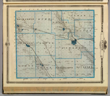 Map of Floyd County, State of Iowa. / Andreas, A. T. (Alfred ...
