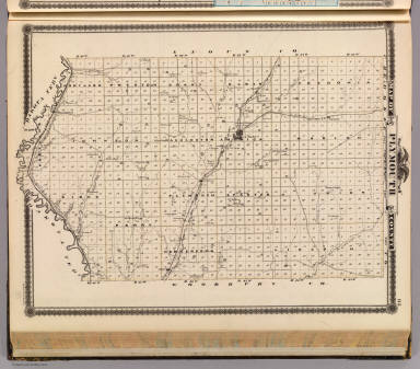Map of Plymouth County. / Andreas, A. T. (Alfred Theodore), 1839-1900 / 1875