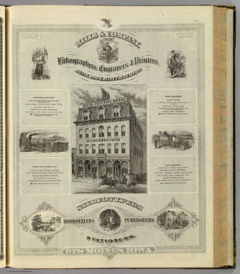 Mills & Company, Des Moines, Iowa. / Andreas, A. T. (Alfred Theodore), 1839-1900 / 1875