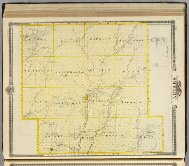 Map of Monona County, State of Iowa. / Andreas, A. T. (Alfred Theodore), 1839-1900 / 1875