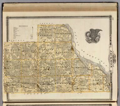 Jackson County Iowa Map.Map Of Jackson County Andreas A T Alfred Theodore 1839 1900