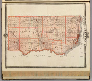 Map of Clinton County, State of Iowa. / Andreas, A. T. (Alfred