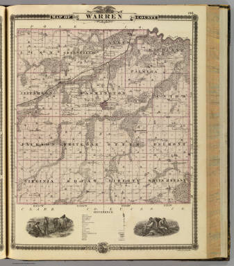 Map of Warren County, State of Iowa. / Andreas, A. T. (Alfred Theodore), 1839-1900 / 1875