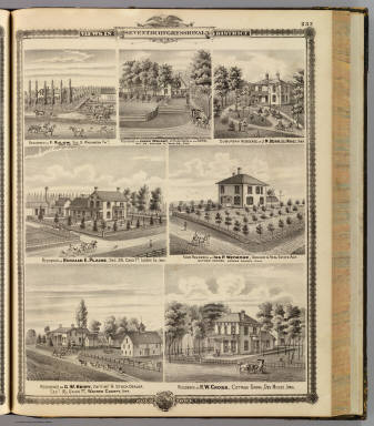 Residences, farms in Polk, Guthrie & Warren counties, and Des Moines, Iowa. / Andreas, A. T. (Alfred Theodore), 1839-1900 / 1875
