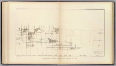 Longitudinal Vertical Projection of the Comstock Lode. Number I. / Becker, George F. / 1882