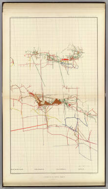 Comstock Mine Maps. Number III. United States Geological Survey. Geology of the Comstock Lode, &c. Atlas Sheet XV. Mapping by the Official Surveyors. G.F. Becker, Geologist in Charge. Julius Bien & Co. Lith. N.Y.
