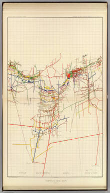 Comstock Mine Maps. Number IV. United States Geological Survey. Geology of the Comstock Lode, &c. Atlas Sheet XVI. Mapping by the Official Surveyors. G.F. Becker, Geologist in Charge. Julius Bien & Co. Lith. N.Y.