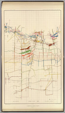 Comstock Mine Maps. Number VI. United States Geological Survey. Geology of the Comstock Lode, &c. Atlas Sheet XVIII. Mapping by the Official Surveyors. G.F. Becker, Geologist in Charge. Julius Bien & Co. Lith. N.Y.