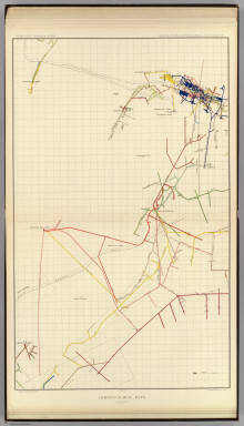 Comstock Mine Maps. Number VII. United States Geological Survey. Geology of the Comstock Lode, &c. Atlas Sheet XIX. Mapping by the Official Surveyors. G.F. Becker, Geologist in Charge. Julius Bien & Co. Lith. N.Y.