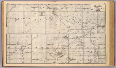 Counties of Cottonwood, Murray, Pipestone, Jackson, Nobles and Rock, Minn. / Andreas, A. T. (Alfred Theodore), 1839-1900 / 1874