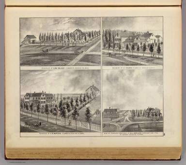 Residences and stores in  Zumbrota and Norway, Goodhue Co., Minn. / Andreas, A. T. (Alfred Theodore), 1839-1900 / 1874