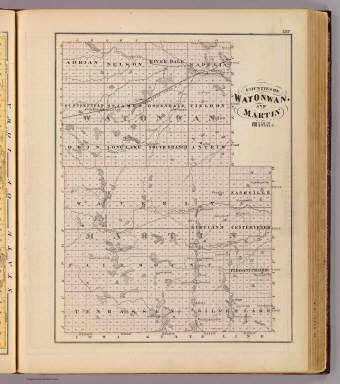Counties of Watonwan and Martin, Minn. / Andreas, A. T. (Alfred Theodore), 1839-1900 / 1874