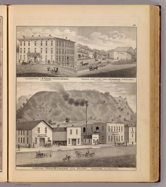 Rushford Wagon & Carriage Co., Lanesboro Hotel, & Haslerud residence & farm. / Andreas, A. T. (Alfred Theodore), 1839-1900 / 1874