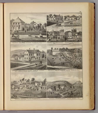 Residences in Amherst and other towns in Fillmore and Houston counties, Minn. / Andreas, A. T. (Alfred Theodore), 1839-1900 / 1874