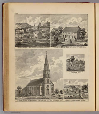 St. Peter's Church, Caledonia, and four residences in Houston County, Minn. / Andreas, A. T. (Alfred Theodore), 1839-1900 / 1874