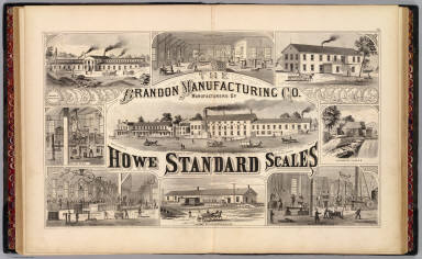 The Brandon Manufacturing Co , manufacturers of Howe