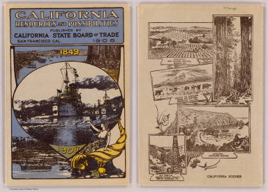 Cover: California resources and possibilities. / California State Board of Trade / 1908