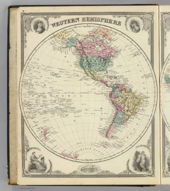 Western Hemisphere. / Andreas, A. T. (Alfred Theodore), 1839-1900; Baskin, Forster and Company / 1876