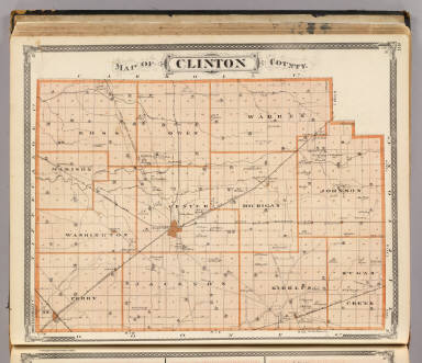 Map of Clinton County. / Andreas, A. T. (Alfred Theodore), 1839-1900; Baskin, Forster and Company / 1876