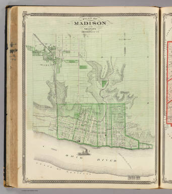 Plan of Madison and vicinity, Jefferson Co. / Andreas, A. T. (Alfred Theodore), 1839-1900; Baskin, Forster and Company / 1876