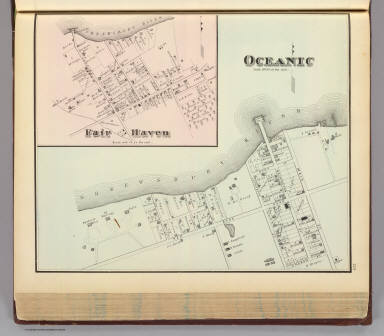 Oceanic and Fair Haven. / Rose, Theodore F.; Woolman, H. C. / 1878