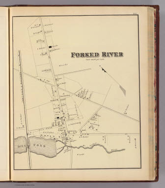 Forked River. / Rose, Theodore F.; Woolman, H. C. / 1878