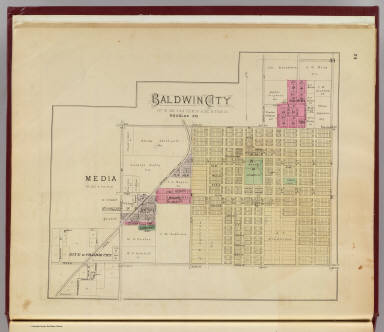 Baldwin City, Douglas Co. / L.H. Everts & Co. / 1887