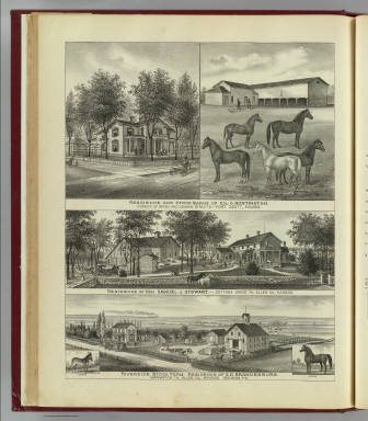 Residences and farms, Ft. Scott and Allen County, Kansas. / L.H. Everts & Co. / 1887