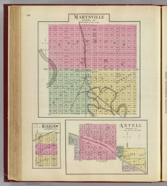 Marysville, Bigelow, Axtell. / L.H. Everts & Co. / 1887
