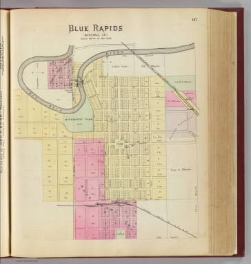 Blue Rapids, Marshall Co. / L.H. Everts & Co. / 1887