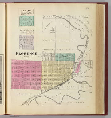 Florence, Canada and Lincolnville, Marion Co. / L.H. Everts & Co. / 1887