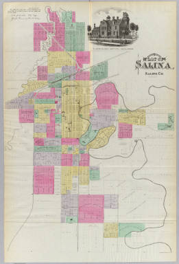 of the City of Salina Kansas LH Everts Co 1887