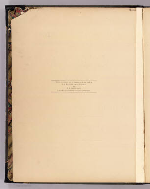 Title Page Verso: New topographical atlas of the State of Ohio. / Walling, H. F.; Gray, Ormando Willis; Lloyd, H. H. / 1872