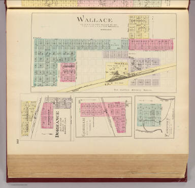 Wallace, Dorrance, Gorham, Fairport. / L.H. Everts & Co. / 1887