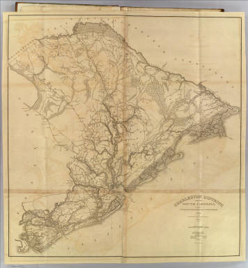 Charleston District, South Carolina. Surveyed By Charles Vignoles & Henry Ravenel. 1820. Improved for Mills' Atlas, 1825. Engd. by H.S. Tanner & Assistants.