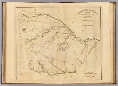 Lexington District, South Carolina. / Mills, Robert / 1825