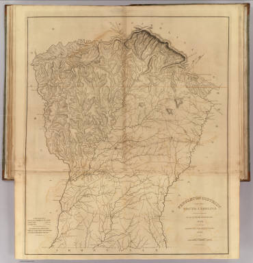Pendleton District, South Carolina. / Mills, Robert / 1825