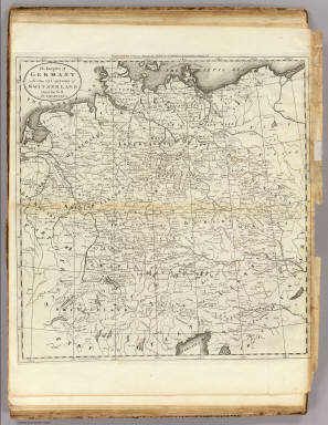 Empire of Germany with the 13 Cantons of Switzerland. / Carey, Mathew / 1796