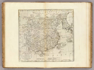China divided into it's Great Provinces According to the best Authorities. B. Tanner Sc. N. York. Engraved for Carey's American Edition of Guthrie's Geography improved.
